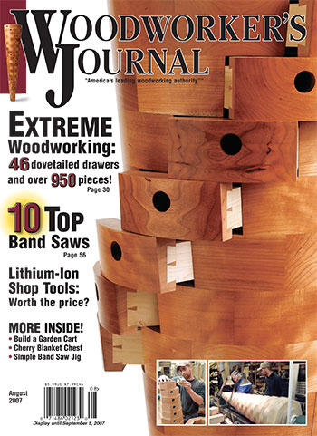 Woodworker's Journal – July/August 2007