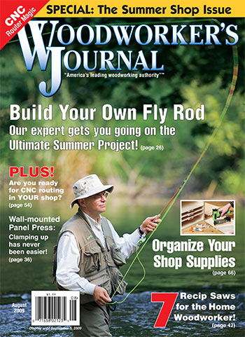 Woodworker's Journal – July/August 2009