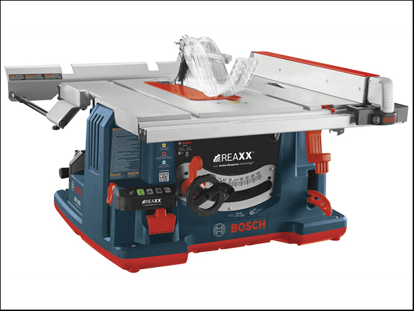 Bosch's REAXX™ Flesh-sensing Jobsite Table Saw Coming this Fall