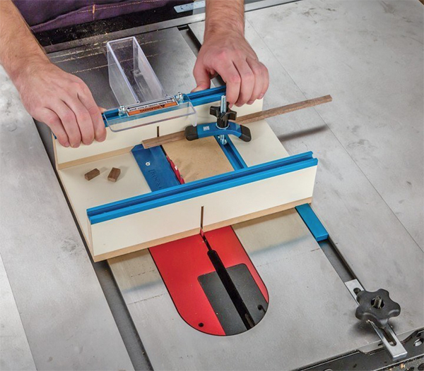 How To Cut Small Parts Table Saw Crosscut Sled