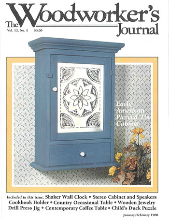 Woodworker's Journal – January/February 1988