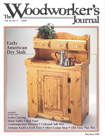 Woodworker's Journal – May/June 1988