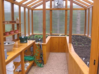 Backyard Greenhouse 4