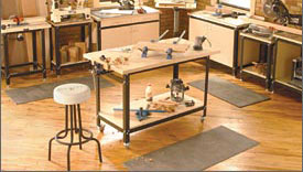 Basement Woodworking Shop