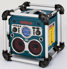 Bosch Power Box: Tunes to Do Woodworking By