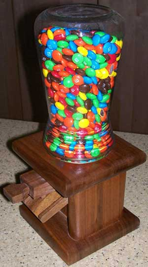 Homemade Candy Dispenser Plans