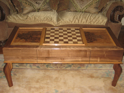 Coffee Chess Table Woodworking Blog Videos Plans