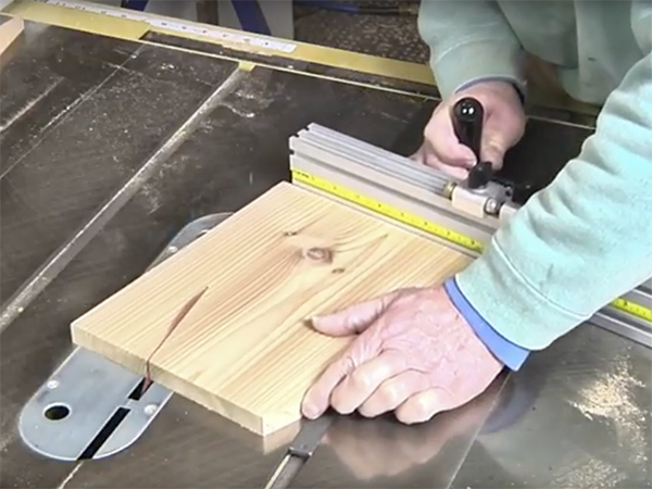 Video Cutting Tapered Staves For Hanging Planter Boxes