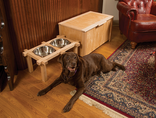PROJECT: Making a Dog Food Station