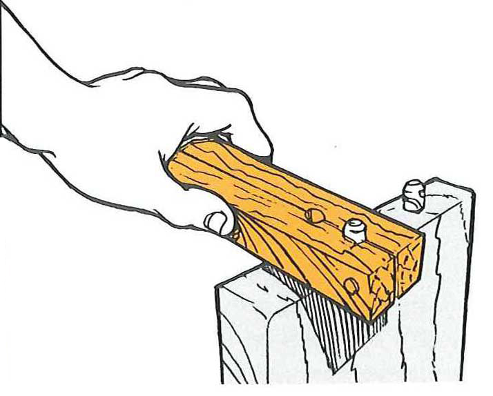 How to Remove Those Stubborn Dowels