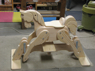 Horse Gliders Woodworking Blog Videos Plans How To