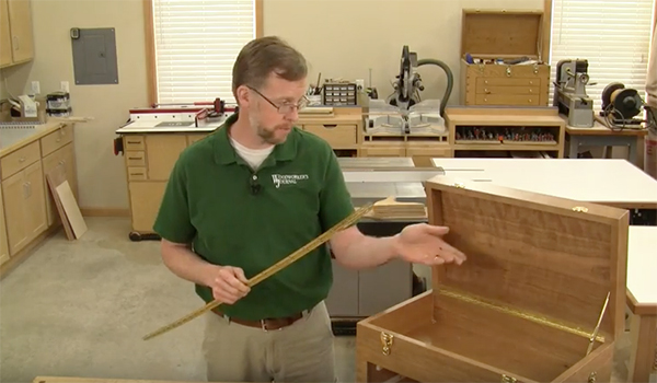 How to Lay Out Piano Hinges