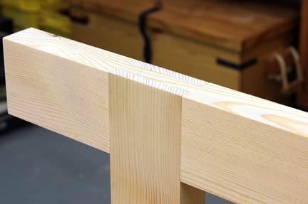 woodworking bridle joint