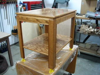 Red Oak End Tables Woodworking Blog Videos Plans How To