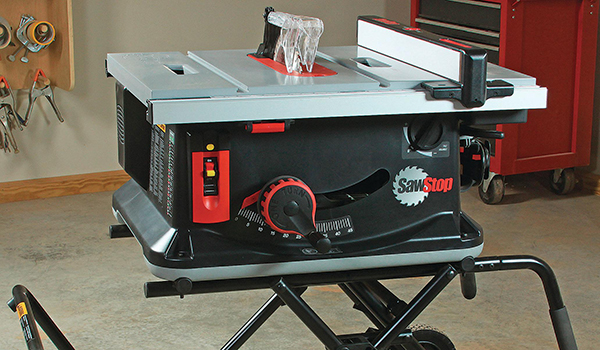 A Quick Look at the SawStop Model JSS Jobsite Saw
