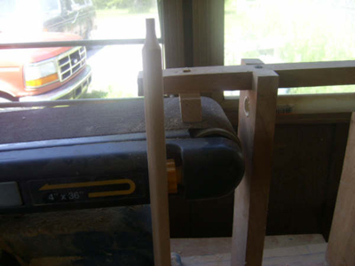 Making Spindles without a Lathe