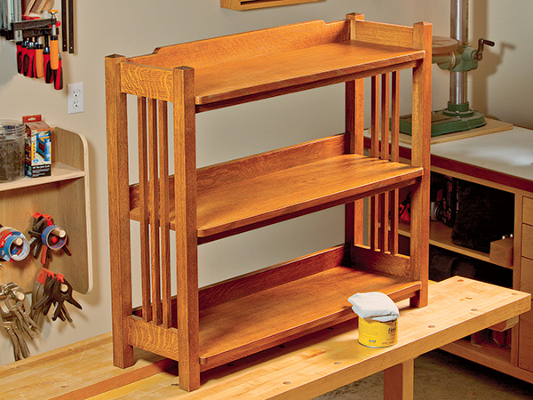 PROJECT: Stickley-inspired Bookcase