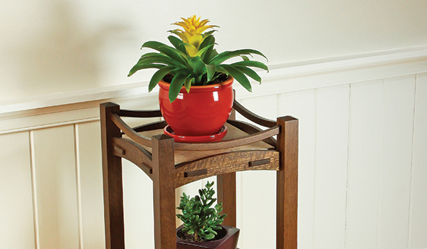 Stickley-Inspired Plant Stand