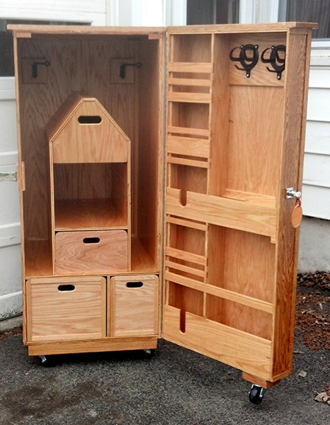 Equestrian Tack Box Woodworking Blog Videos Plans
