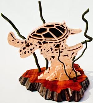San Diego Fine Woodworkers' Association Design in Wood 2009 Winners