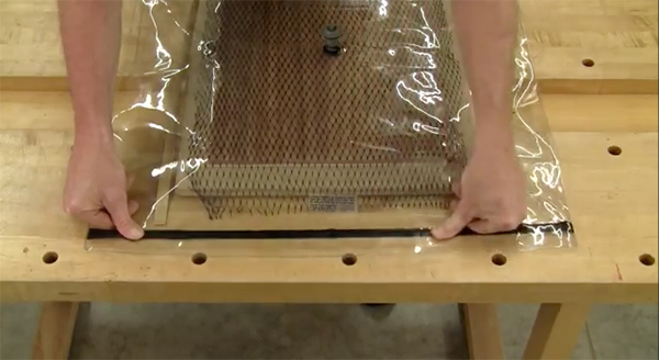 Saw Mill For Sale >> Panel Veneering with a Simple Vacuum Bag - Woodworking | Blog | Videos | Plans | How To