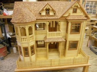 Victorian Dollhouse Woodworking Blog Videos Plans