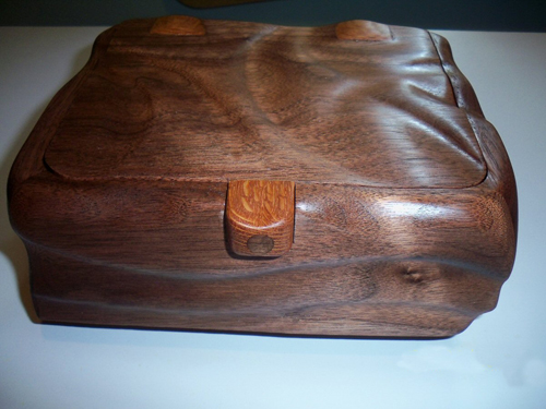 Walnut Cutoff Box