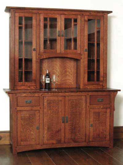 Chris's Arts & Crafts Wine Cabinet