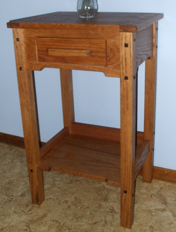 Wood work woodworking end table plans pdf plans for Side table plans
