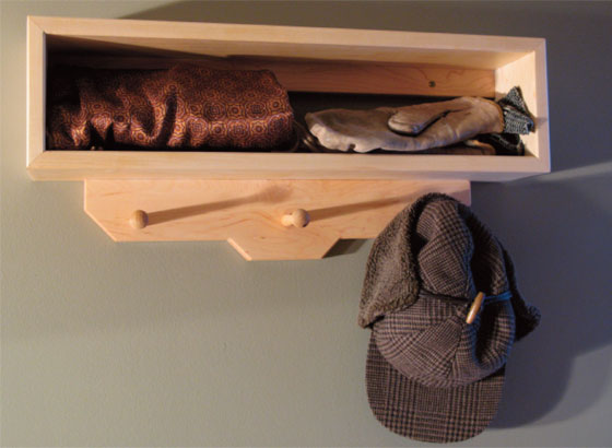 Entryway Coat Rack Project