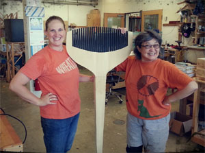 Alicia Dietz: Piloting Her Career into Woodworking
