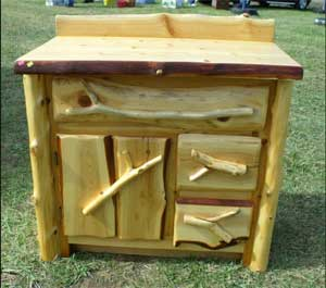 Doug Degriselles: Rustic Furniture is a Natural Fit