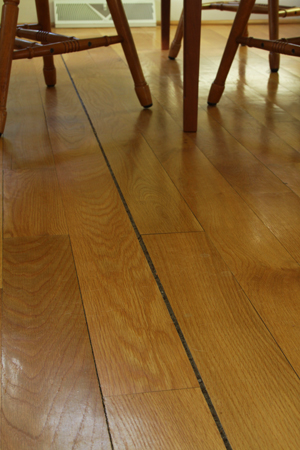 Can I Putty Cracks in a Wood Floor?