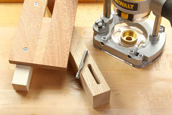 Cut Mortises with a Plunge Router and Jig