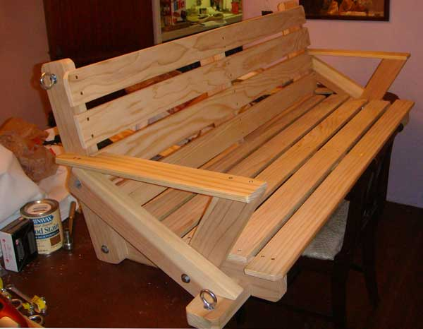 porch swing plans free