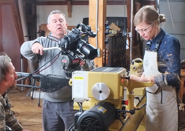 My Video Shoot at Conover Workshops