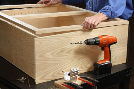 How To Make Cabinet Face Frames Pocket Hole Jigs