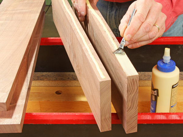 Big Panel Joint: Should I Use Dowels or Biscuits?