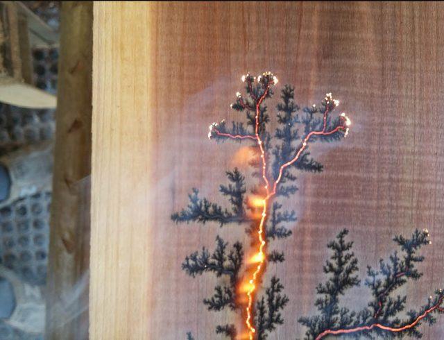Evan Blomquist: High-Voltage Woodburning