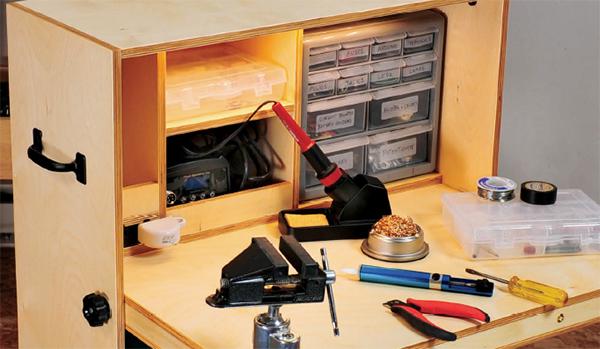 Building a Hobby Desk