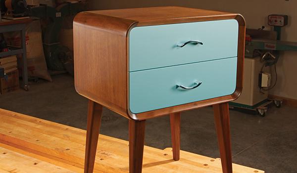 Mid Century Modern Nightstand Woodworking Blog