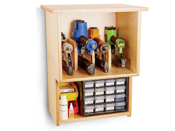 Project Nail Gun Cabinet Woodworking