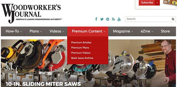 Permium-Content-Web-Header