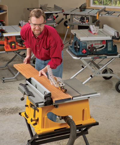 Portable Table Saw Review Job Site Benchtop Woodworking