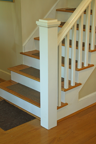 Anchoring A Newel Post