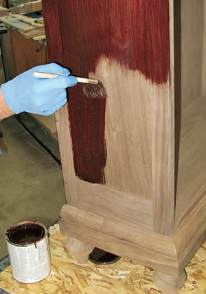 How Many Coats Of Stain Should I Ly Woodworking Blog