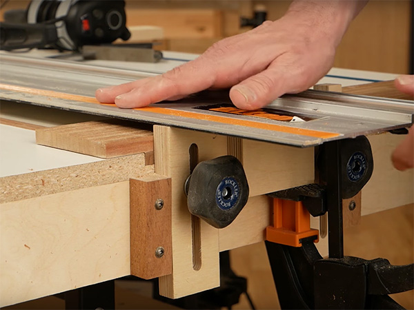VIDEO: How to Use a Shop-Made Track Saw Jig