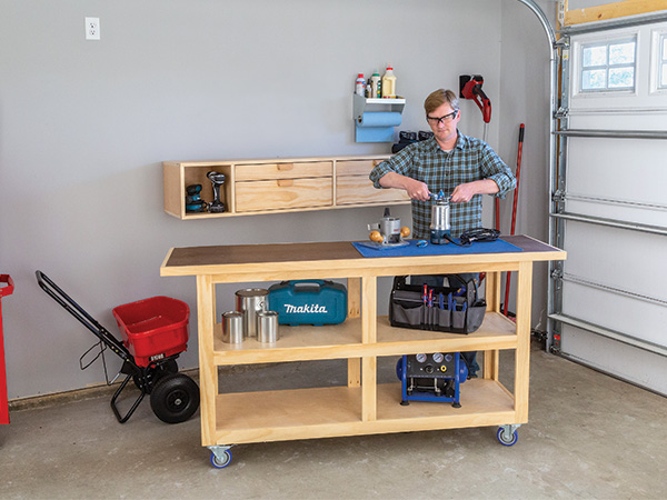 PROJECT: Wall Storage System - Woodworking | Blog | Videos ...