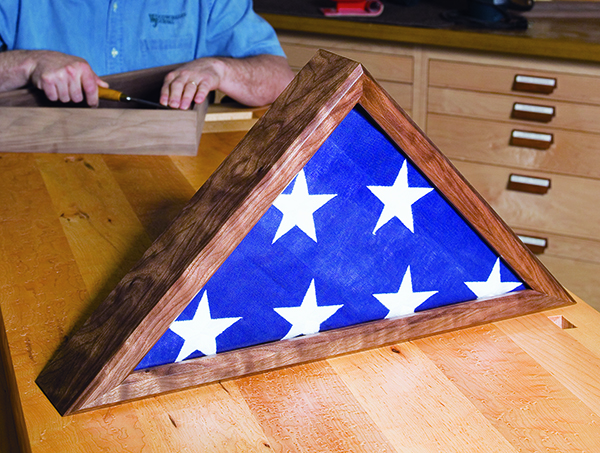 Memorial Flag Case Plans | Make Veteran Flag Display Case