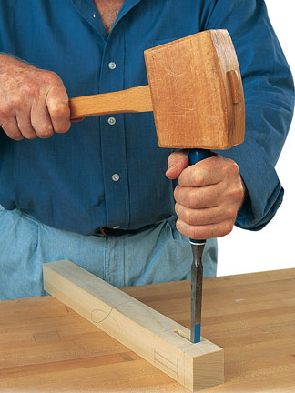 How To Use A Mortising Chisel Woodworking Blog